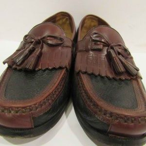 Johnston Murphy Sz 10.5 Brown Loafers Mens Shoes